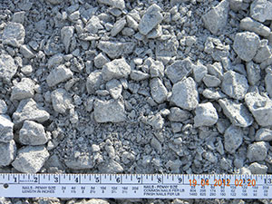 limestone 2 inch crusher run