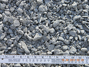 limestone 3-4 inch crusher run